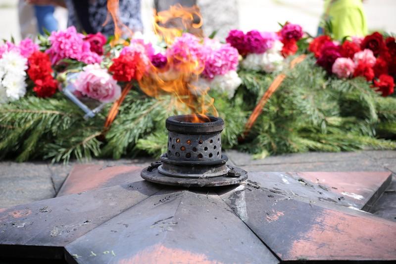 Озерчане почтили память павших